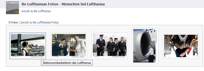 Be Lufthansa - Menschen bei Lufthansa