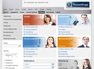 Karriere-Website Best Practice in Usability und Zielgruppenorientierung