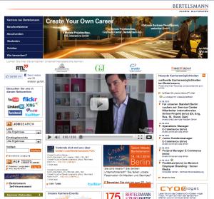 Finden Sie hier die gesuchten Informationen - Negativbeispiel Usability auf Karriere-Websites