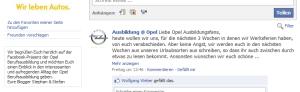 Ausbildung bei Opel - hier bloggen Stephan und Stefan
