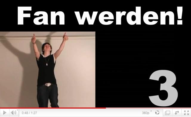 Work Performance - Videoaufruf: Fan werden!