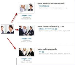 Hier kann man einmal sehen, wo das Bild der Karriere-Website noch zu finden ist