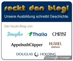 Rockt den Blog - Douglas Google Ad