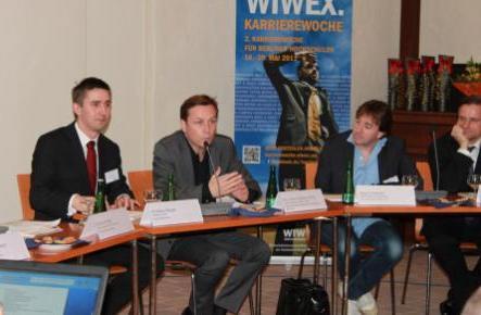 WIWEX Unternehmensgespräche 2011 - Quelle: WIWEX