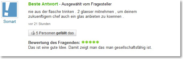 Beste Antwort - Quelle: Yahoo Answers