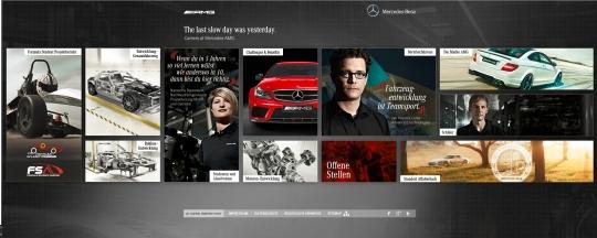 AMG Karriere - So sollte die Karriere-Website idealerweise aussehen